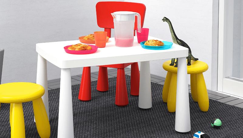 Ikea mammut kinder tisch stuhl hocker set in out garten wohnen