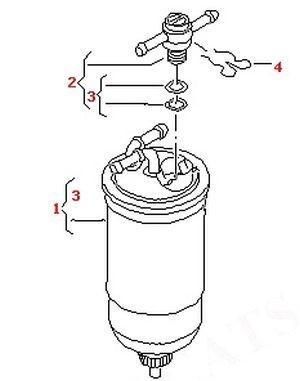 meyle diesel fuel filter valve union clip vw audi seat skoda tdi Goldenrod Fuel Filters meyle diesel fuel filter valve union with clip for most vw audi seat and skoda sdi tdi