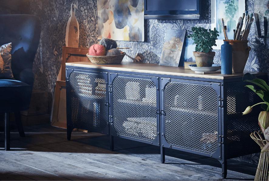 ikea fj llbo tv tisch tv board fernsehschrank lowboard. Black Bedroom Furniture Sets. Home Design Ideas