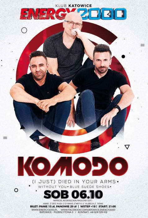 Energy 2000 (Katowice) - KOMODO pres. Live On Stage (06.10.2018)